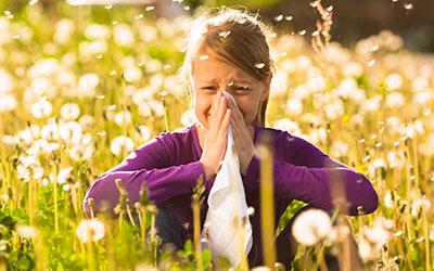 HNO-Praxis Bochum - Kind mit Allergie